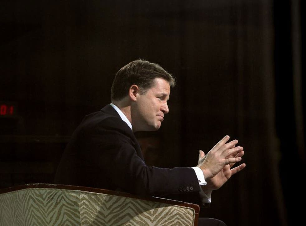 Nick Clegg's move away from the Conservatives offers an insight into the lines being drawn up for the up-coming election