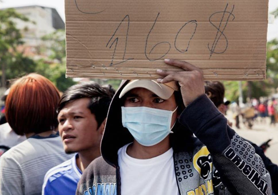 Help Cambodia's garment workers, unions urge Business Secretary