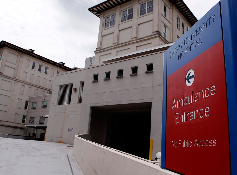 The Atlanta hospital treating one of the US aid workers stricken with the Ebola virus, and preparing to receive a second, has appealed to the public to show compassion, after receiving 'nasty emails' asking why the patients were allowed back into the coun