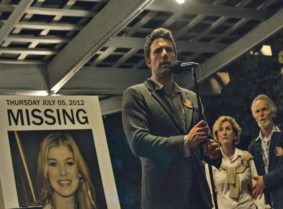Ben Affleck stars as prime suspect Nick Dunne in the film adaptation of Gone Girl