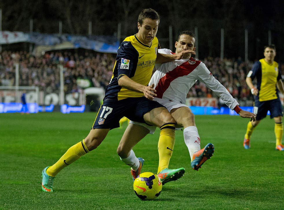 Atletico Madrid defender Javier Manquillo has picked Liverpool over a move to Arsenal