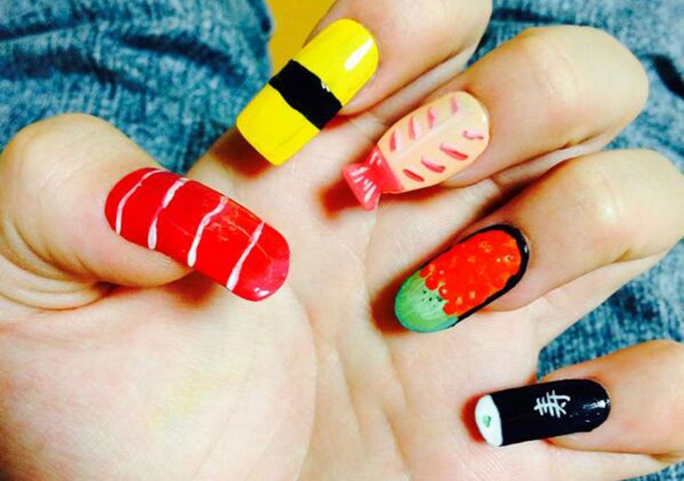 Sushi Nail Art Is The Latest Beauty Trend In Japans Social Media