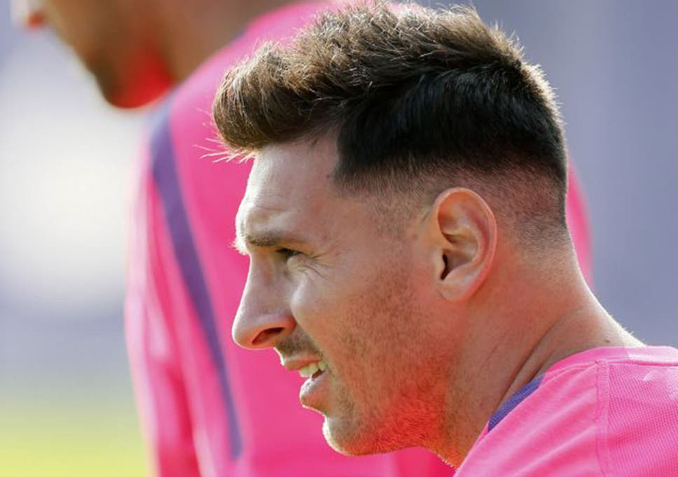 Barcelonas Lionel Messi Gets A New Haircut For The New Season The