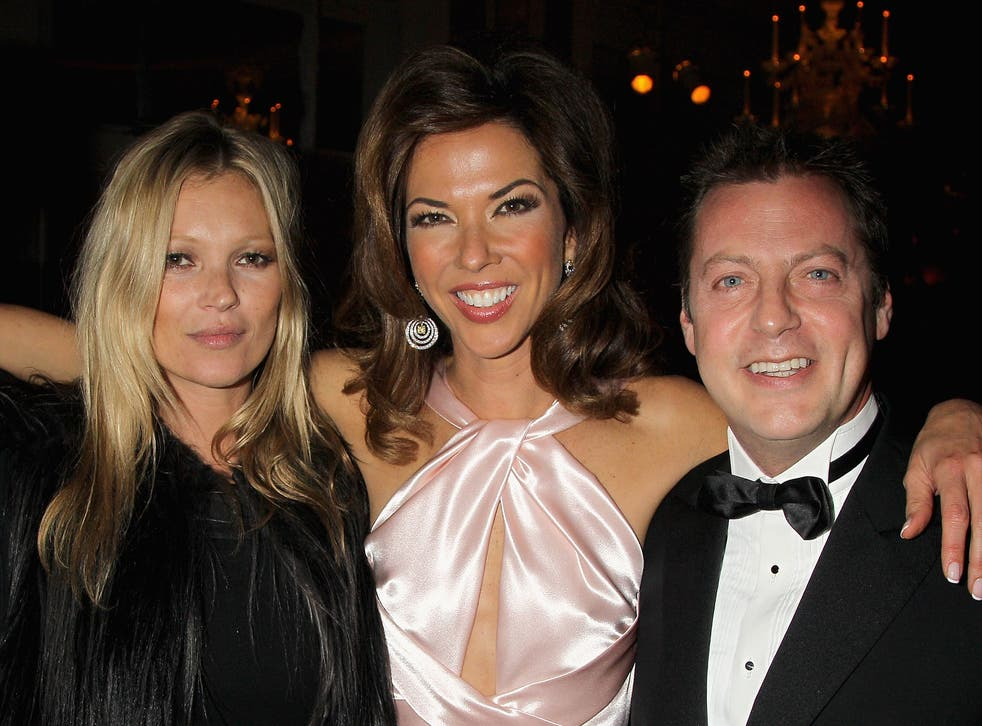 Matthew Freud at the 2012 Marie Curie Cancer Fundraiser, with Kate Moss and Heather Kerzner