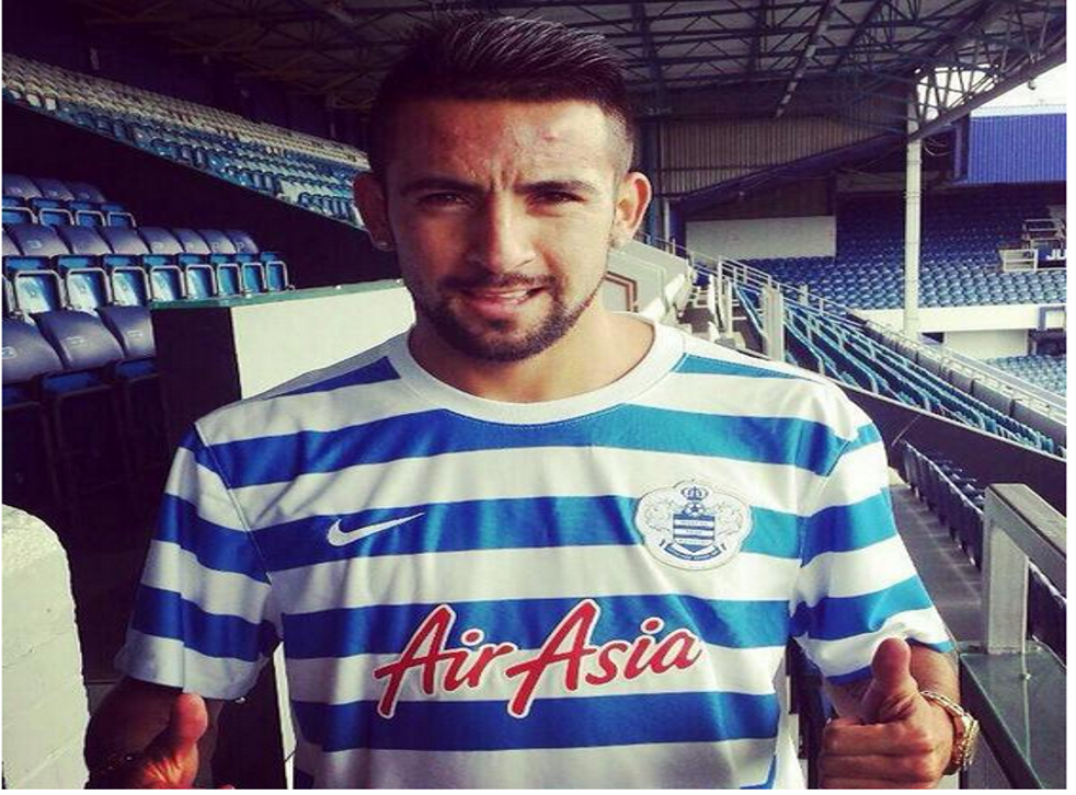 The Chile international has joined QPR on loan