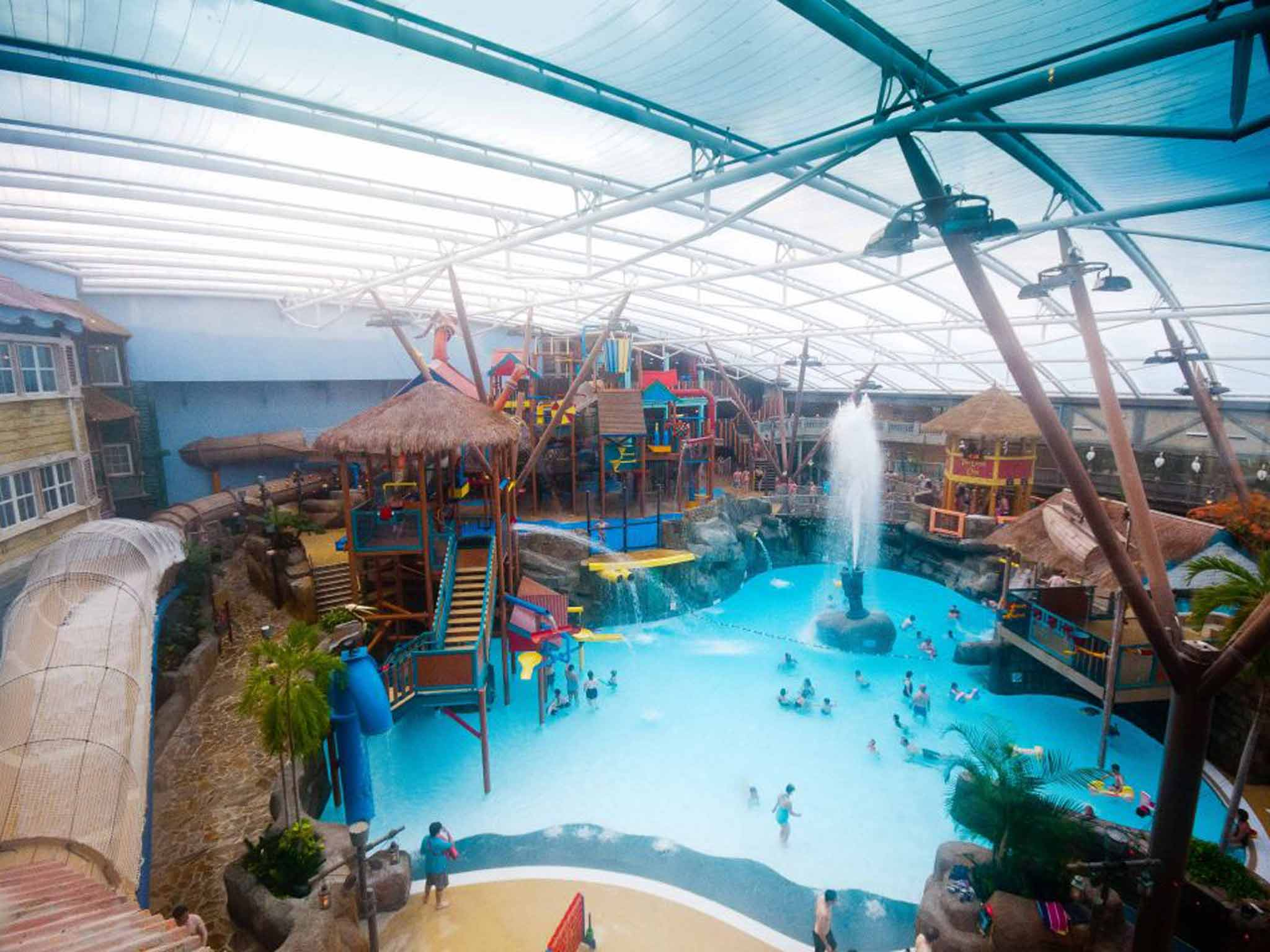 Top Places To Swim In The Uk From Wild Ponds To Water Slides The Independent