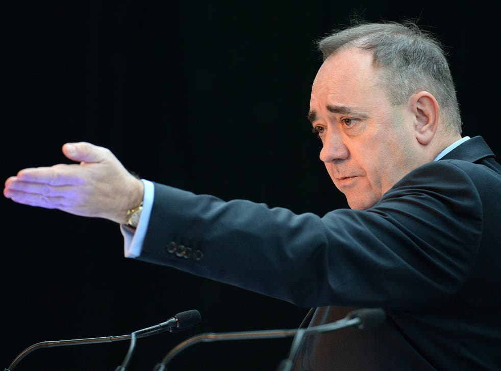 Scottish First Minister Alex Salmond is to call for an arms embargo on Israel