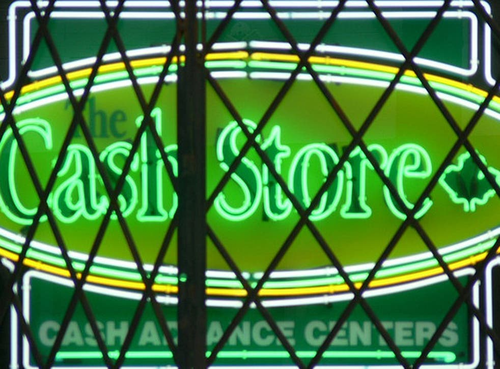 Cash Store's funding from its Canadian parent was withdrawn last month