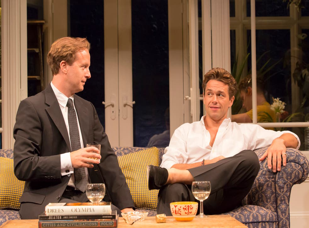 A scene from My Night With Reg at the Donmar Warehouse