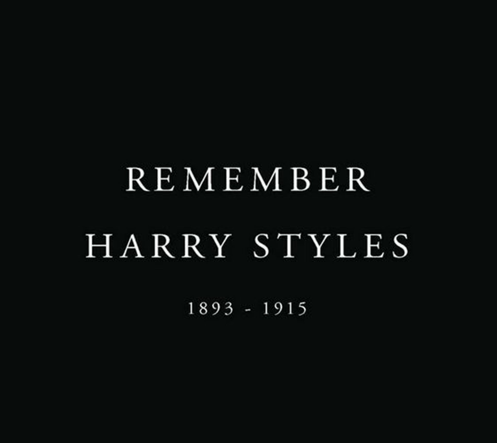 Rip Harry Styles And Andy Murray Campaign Mourns The Deaths Of
