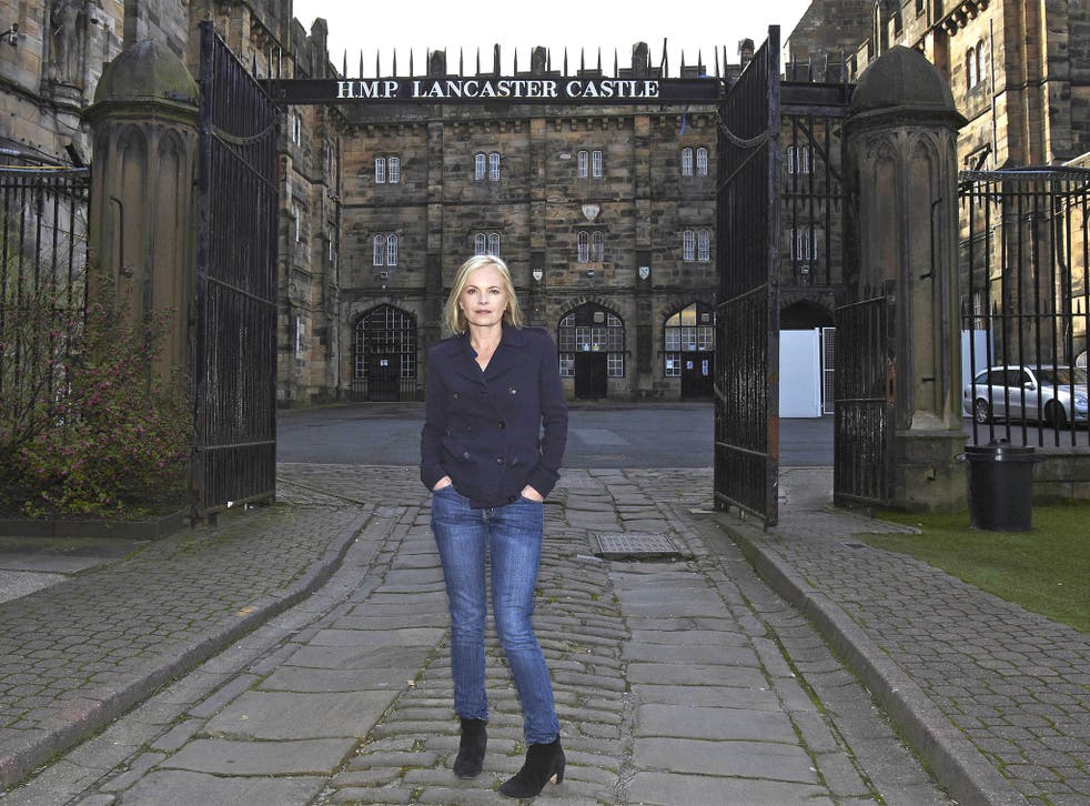 Inside information: Mariella Frostrup discovered more about her great-great-grandfather's incarceration in HMP Lancaster Castle in 'Secrets from the Clink'
