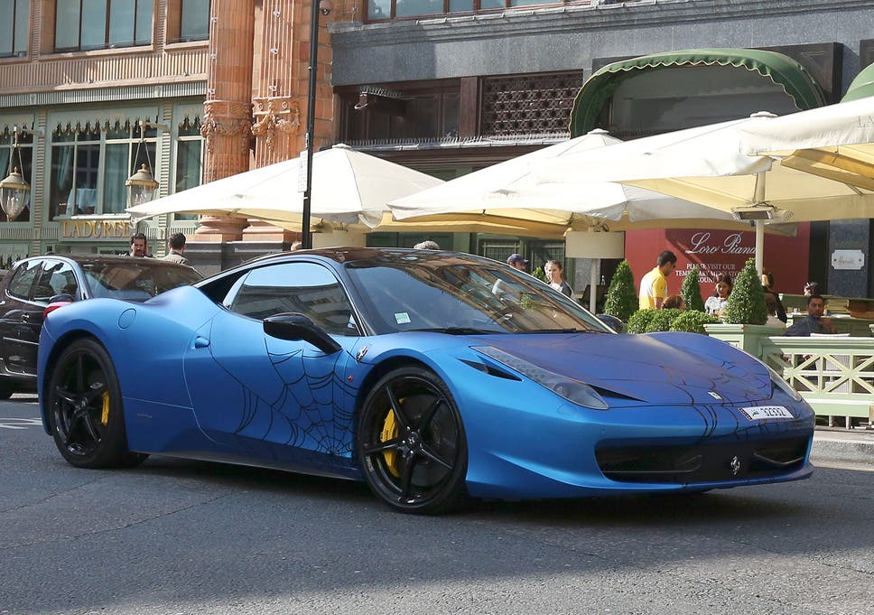 Supercar Season Descends On London With Lamborghinis Ferraris And