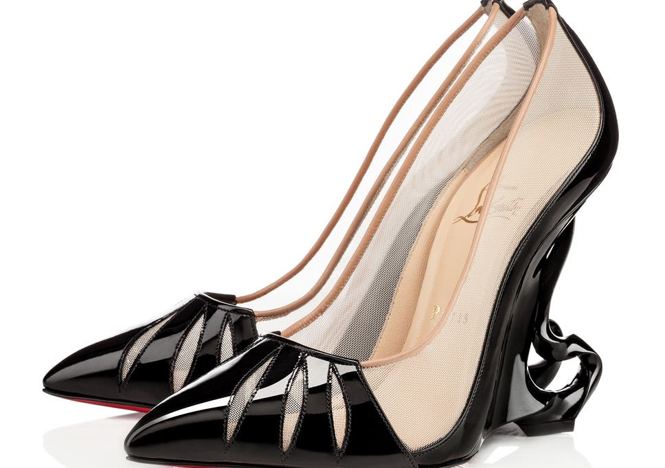 03947ccf250 Angelina Jolie s Christian Louboutin Maleficent shoes can be yours for  almost £1k