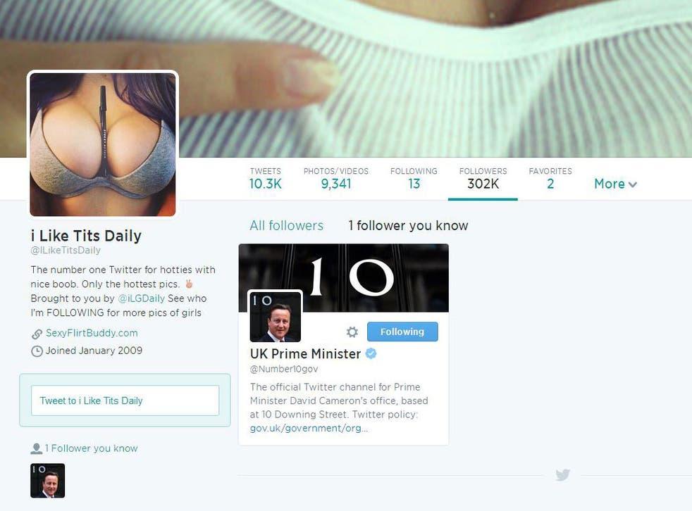 Downing Street follows 'I Like Tits Daily'