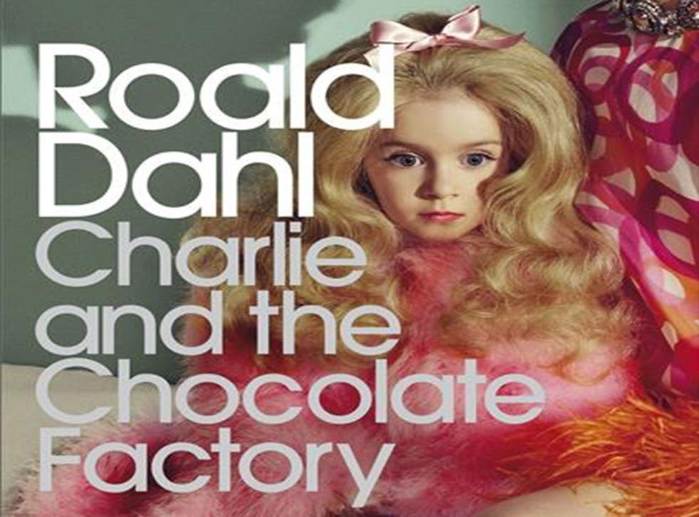 This new book cover for Roald Dahl's Charlie and the Chocolate Factory has sparked outrage