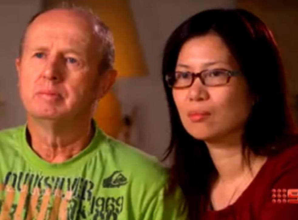 In a statement released ahead of their appearance on the Australian TV show 60 Minutes, David and Wendy Farnell (pictured) said they would like Australia to hear their side of the story, before passing judgement on them.