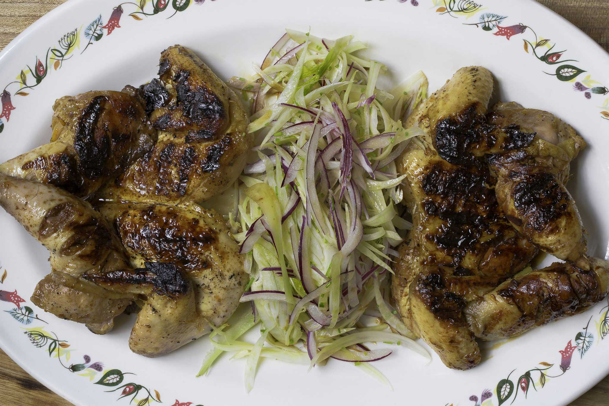 Mark Hix recipe: Spring chicken with lemon, honey and ...