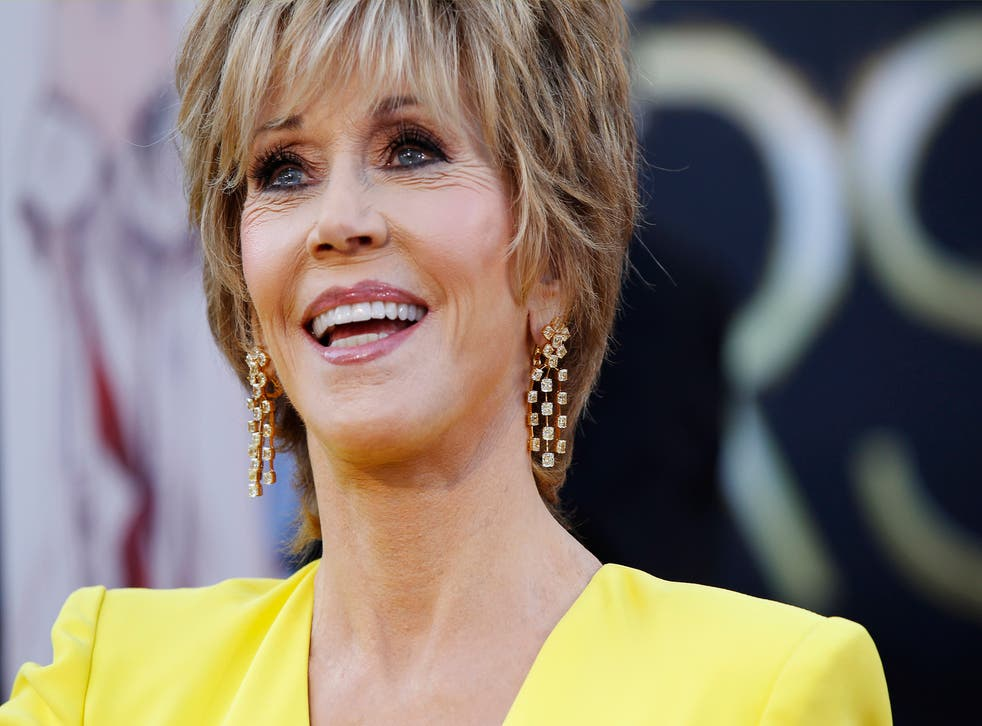 Jane Fonda has been pictured with a very dubious piece of furniture