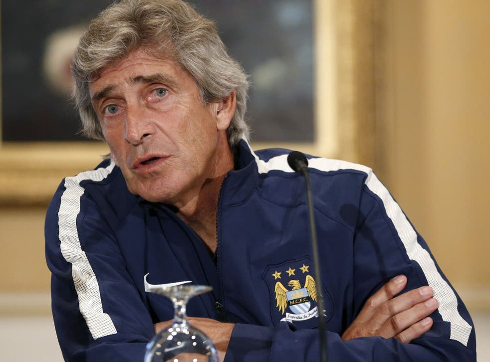 Manuel Pellegrini says that financial restrictions have reduced the amount of his transfer budget