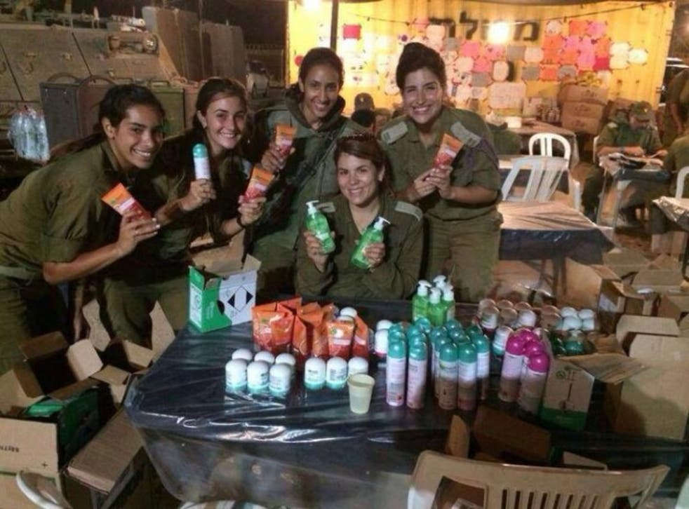 This photo of care packages sent to female Israeli soilders containing Garnier products sparked a backlash against the company