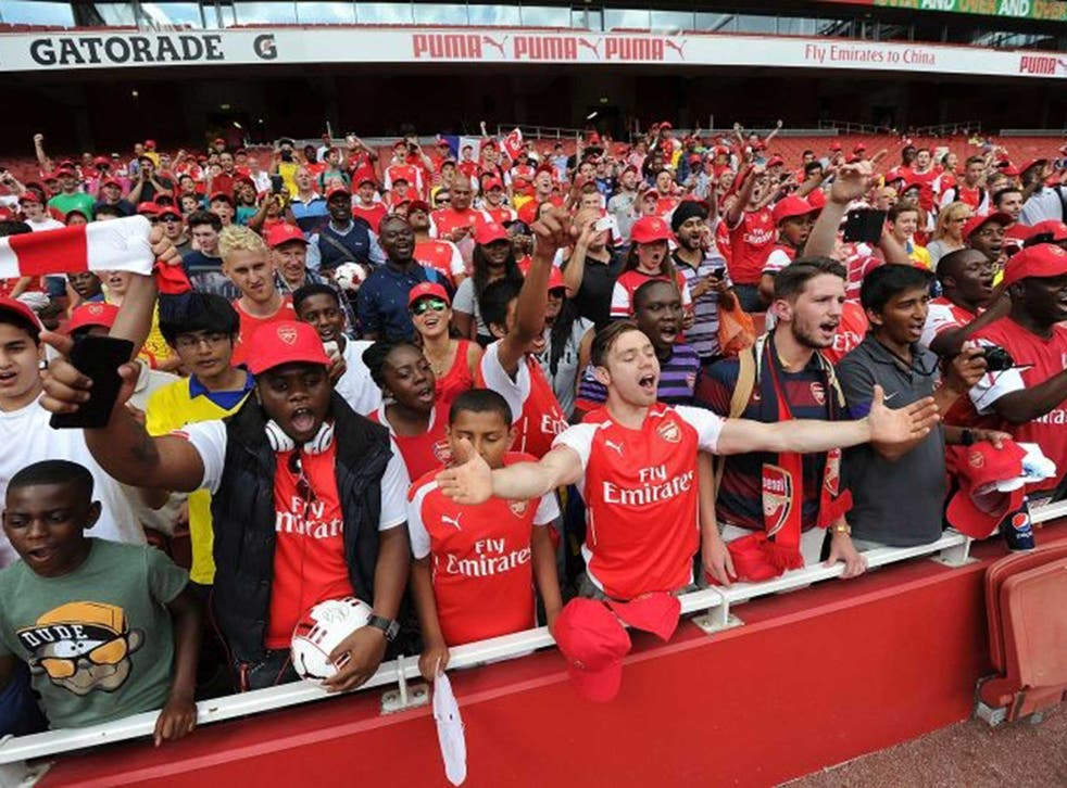 Matches are too costly for many young fans