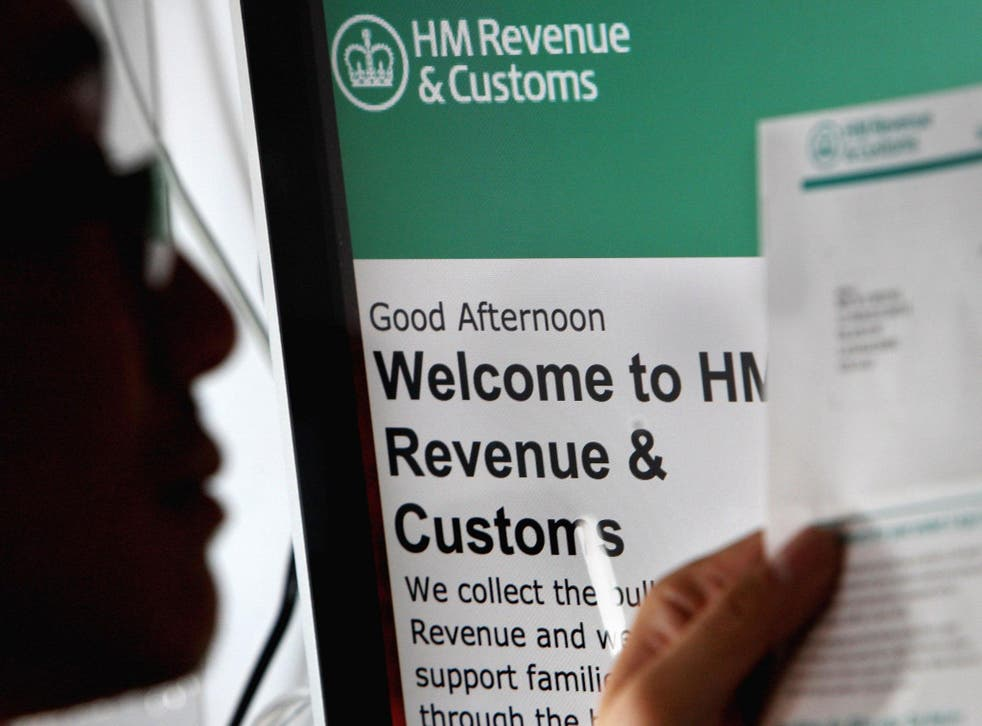 Callers to HMRC's helpline left on hold for up to an hour