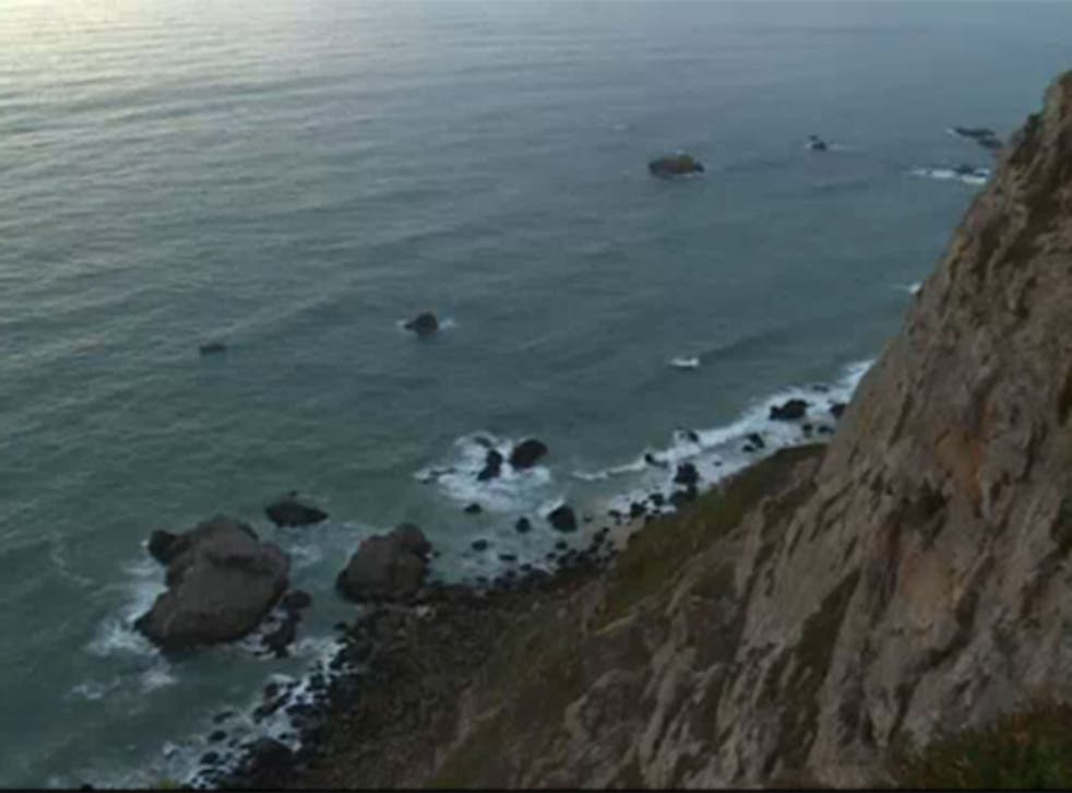 In Portugal a Polish couple plunged to their deaths while attempting to take a selfie with their children on the edge of a cliff.