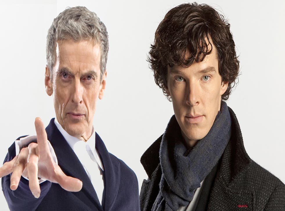 Moffat said The Doctor and Sherlock would probably 'sulk' upon meeting