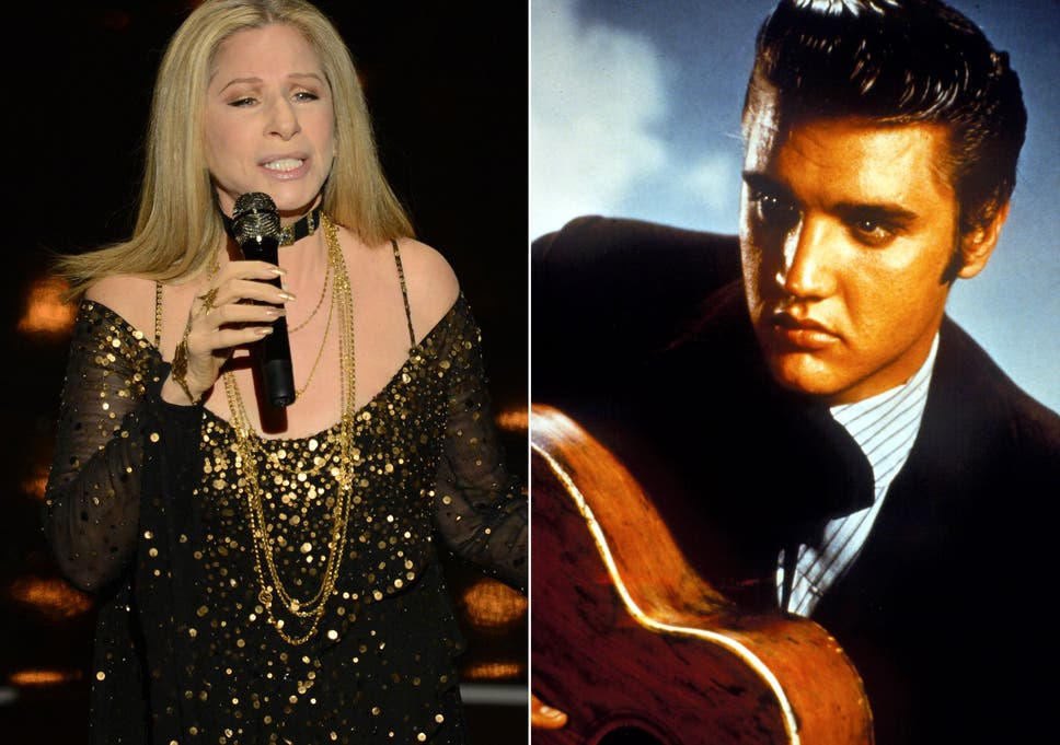 Barbra Streisand records duet with Elvis Presley as stage