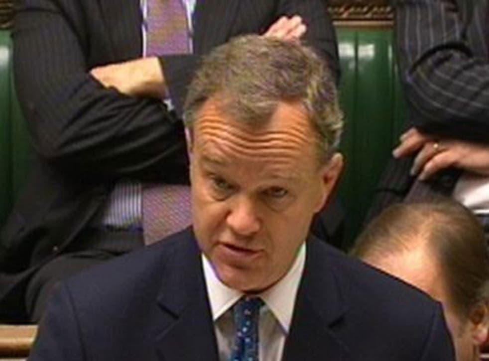 Foreign Office minister Mark Simmonds has resigned from the Government and will stand down as MP for Boston and Skegness at next year's General Election