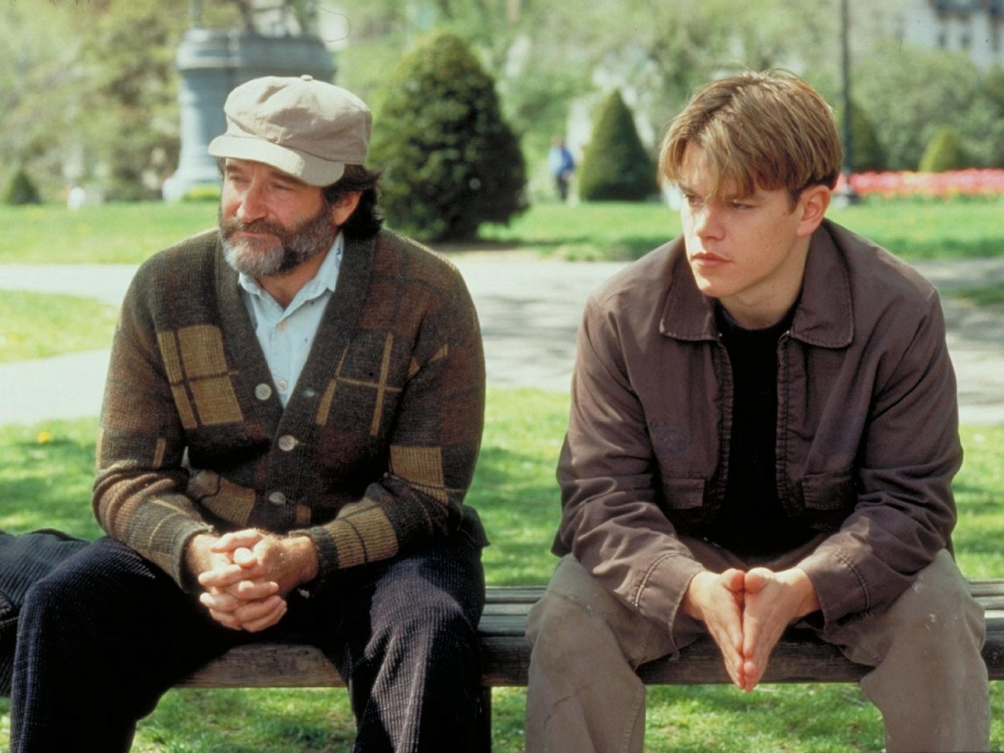 Watch Robin Williams in Good Will Hunting bench scene ...