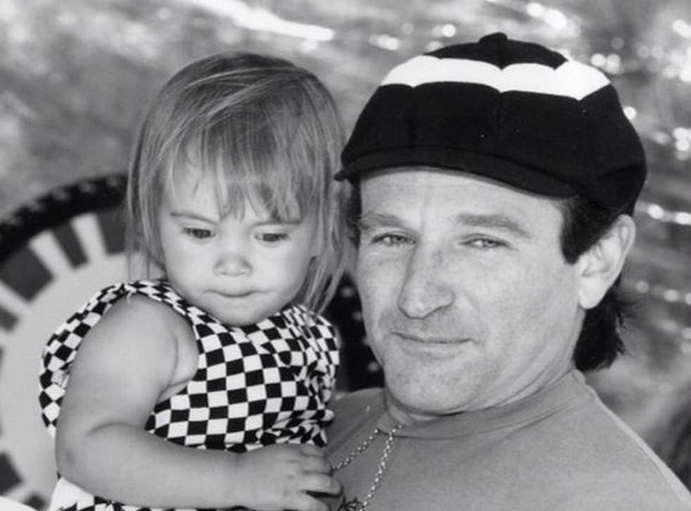 This is the last picture Robin Williams posted on Instagram on his daughter Zelda's 25th birthday