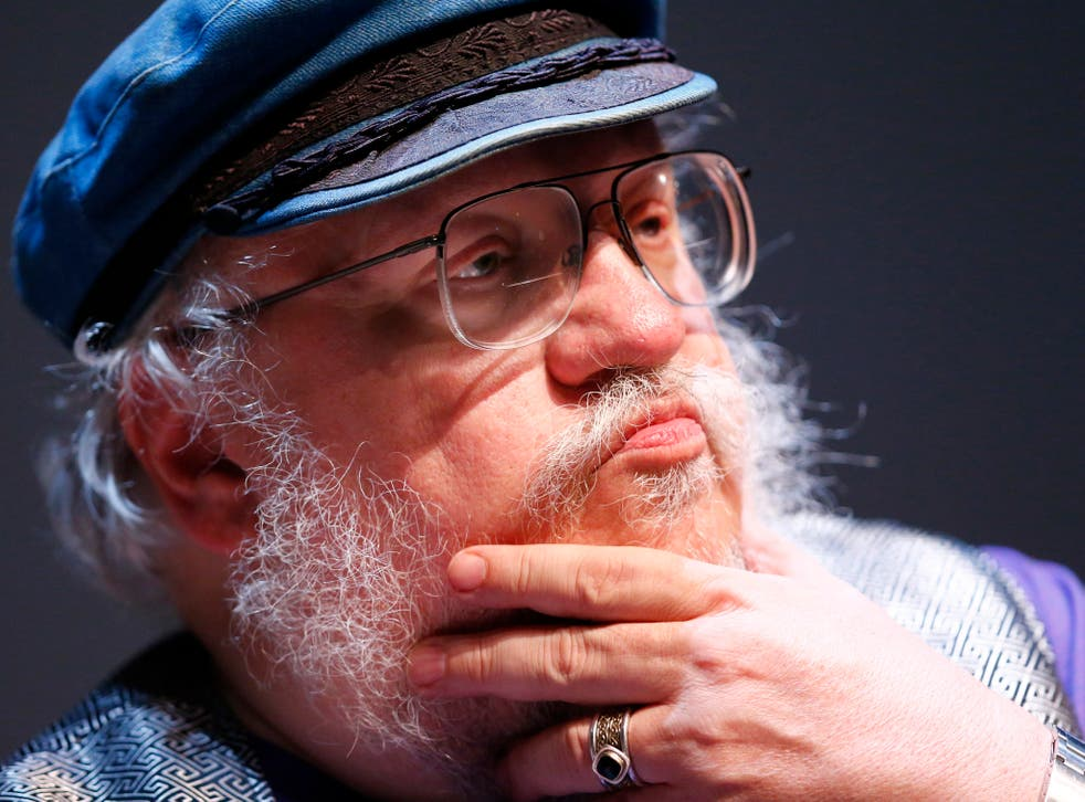 George R. R. Martin is currently writing the series' final instalments