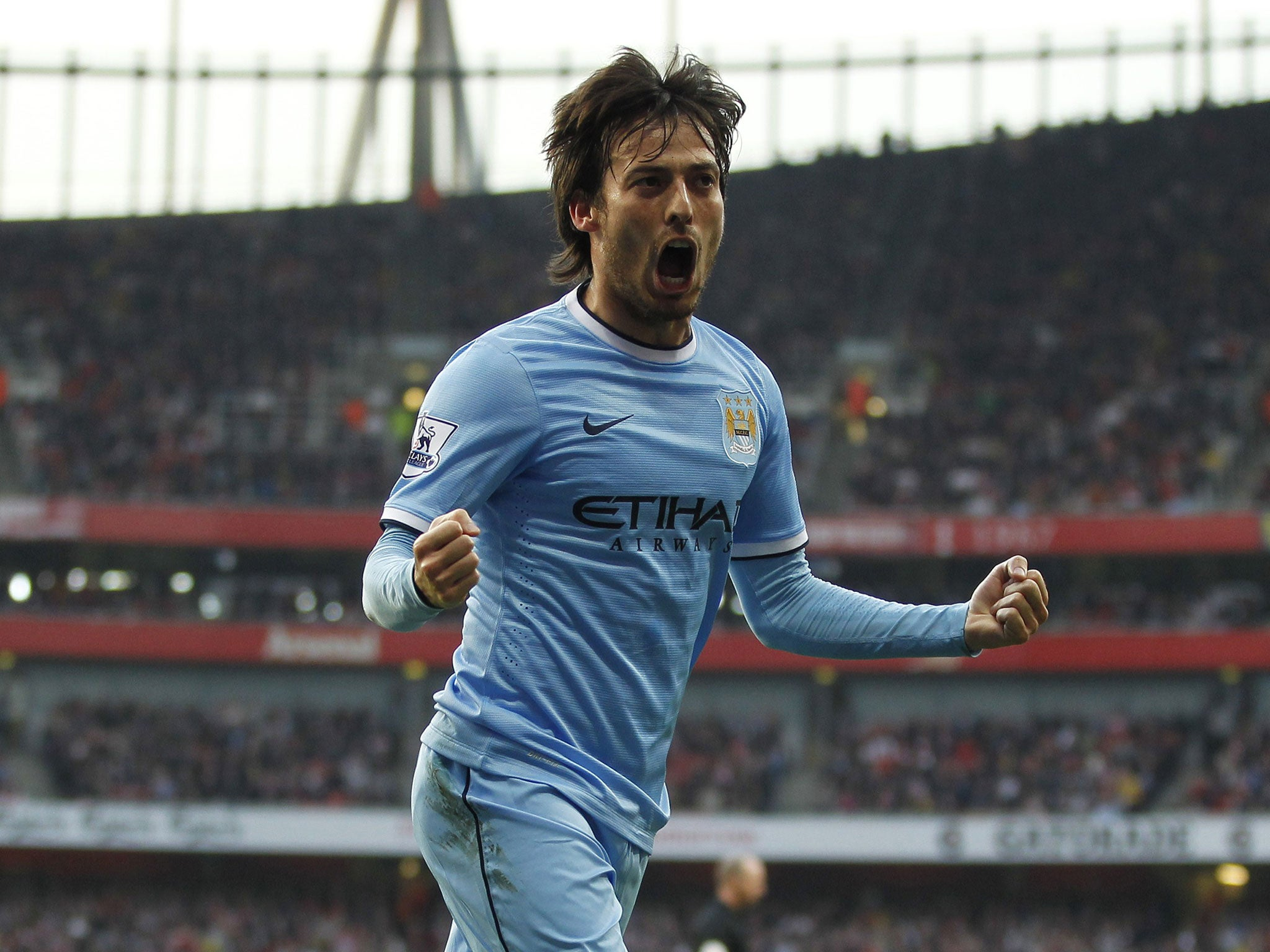 David Silva signs new contract Silva extends Manchester City stay