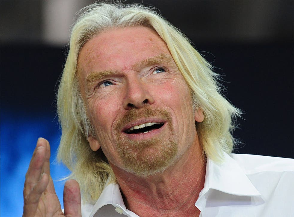 Sir Richard Branson expressed interest in Wireless Armour's 'intriguing' product