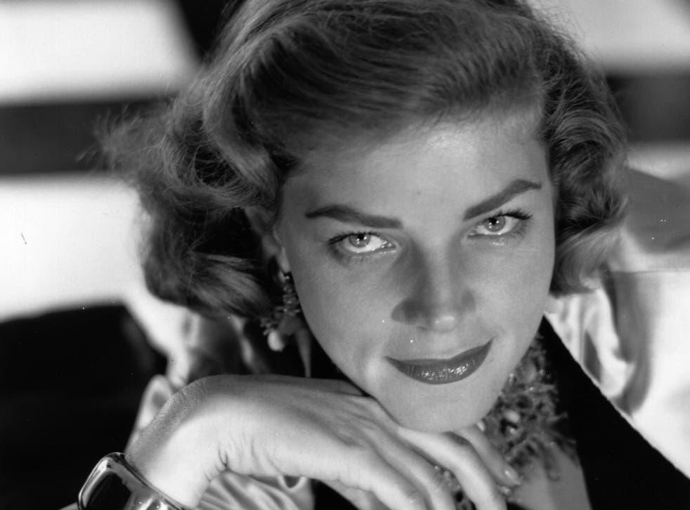 Lauren Bacall in 1954
