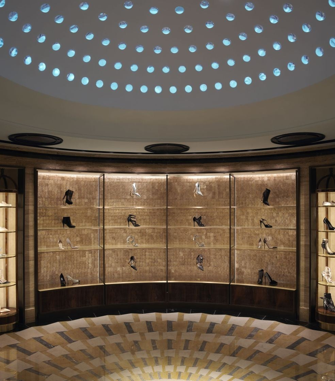 1218725baf8 Harrods' Shoe Heaven: A celestial experience with Jimmy Choo, Manolo ...