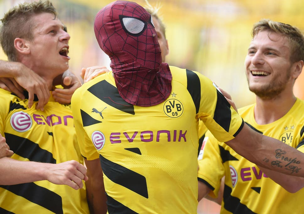 Image result for aubameyang spiderman
