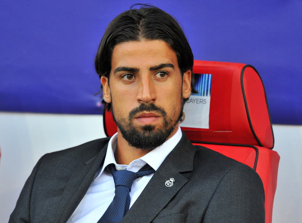 Real Madrid midfielder Sami Khedira was left-out of the squad for the 2-0 Uefa Super Cup win over Seville