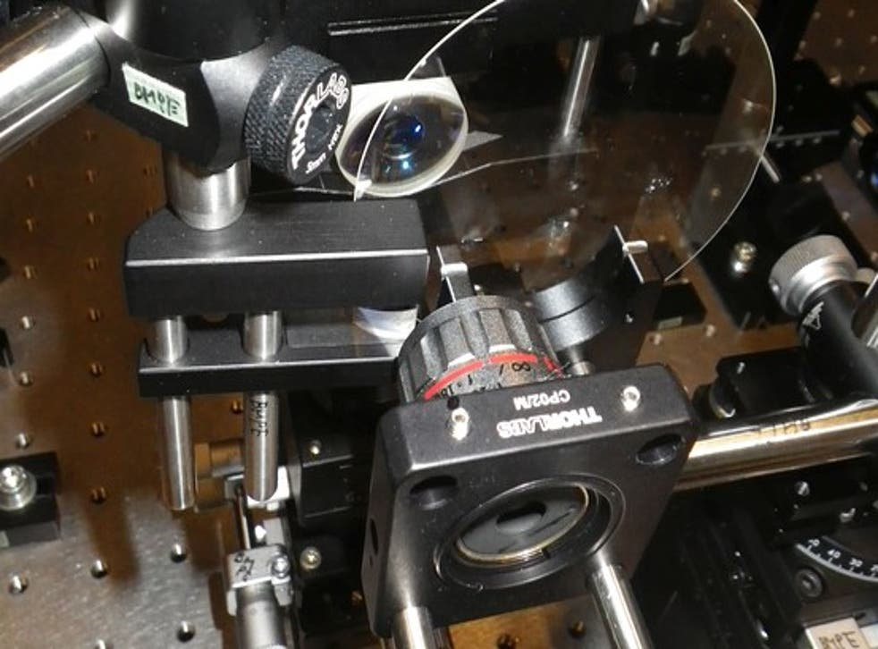 The Sequentially Timed All-optical Mapping Photography, or STAMP camera is the world's fatest camera, capturing 4.4 trillion frames a second.