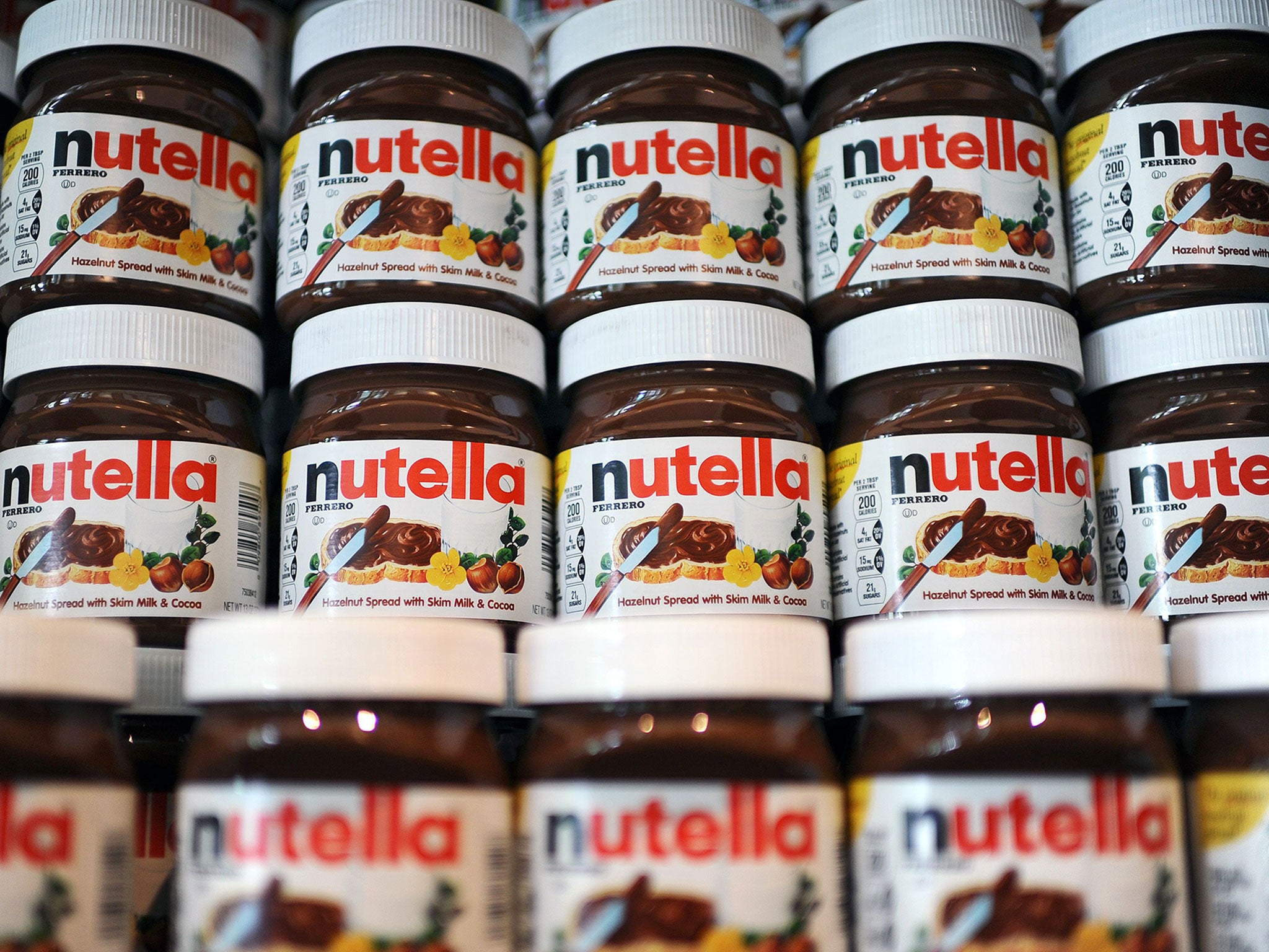 Nutella is being removed from supermarkets