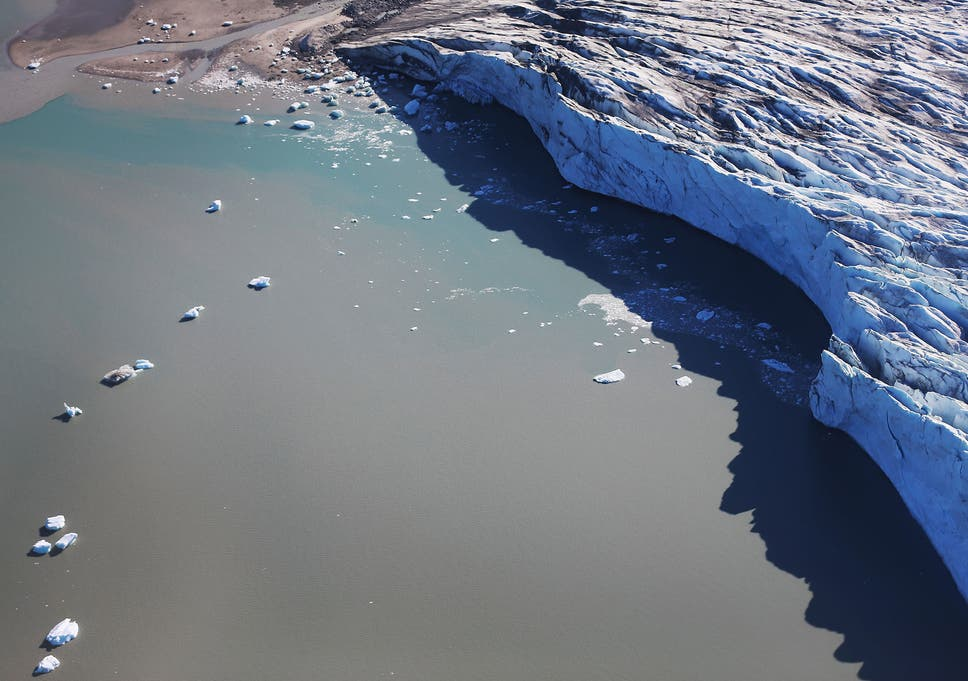 Aera Is There Summer Melt For Social >> Melting Glaciers Are Caused By Man Made Global Warming Study Shows