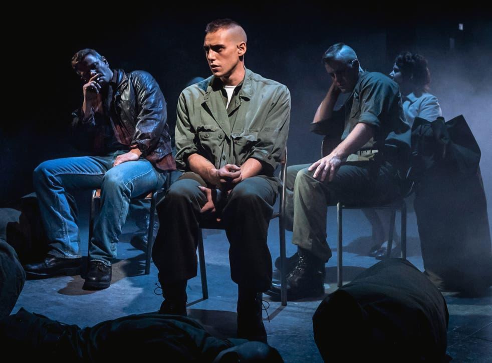 Jamie Muscato as Eddie Birdlace in Dogfight