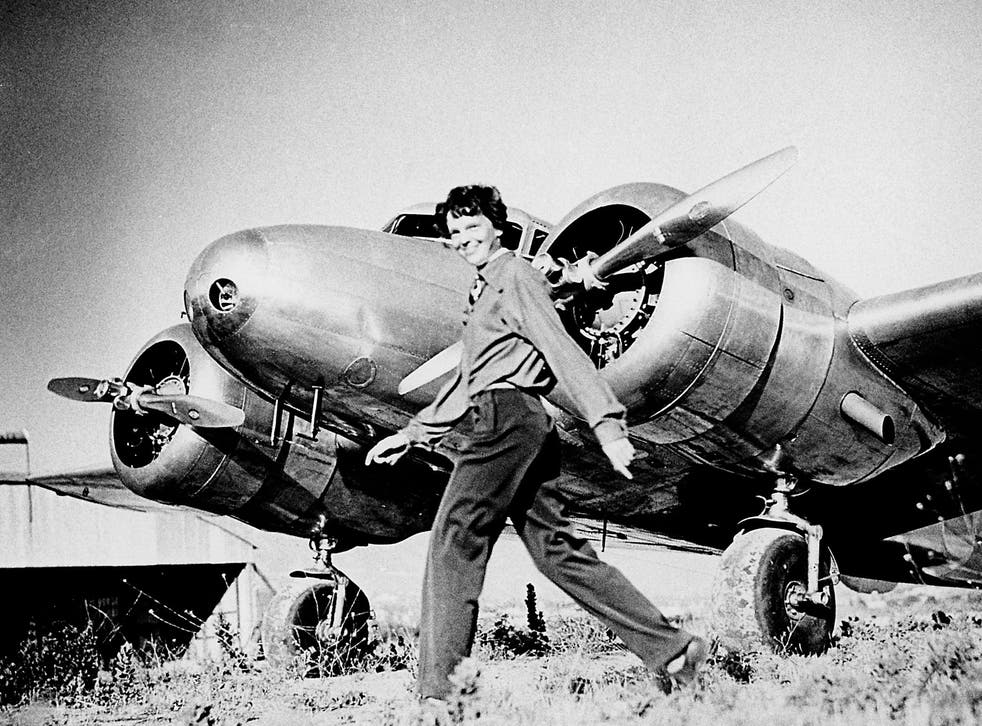 Amelia Earhart became known around the world following her historic solo flight across the Atlantic