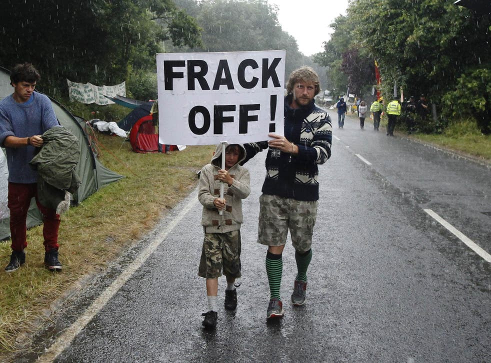 More than 1,000 opponents of fracking are expected to set up camp on the meadows off Preston New Road in Lancashire's Fylde