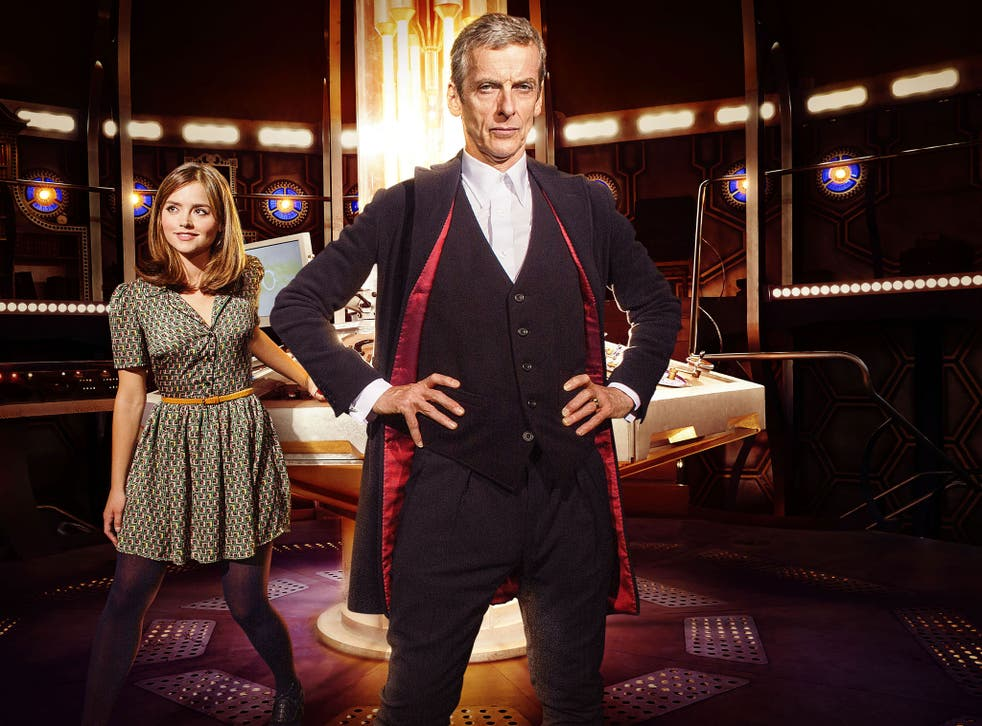 Coleman in the new series with Peter Capaldi