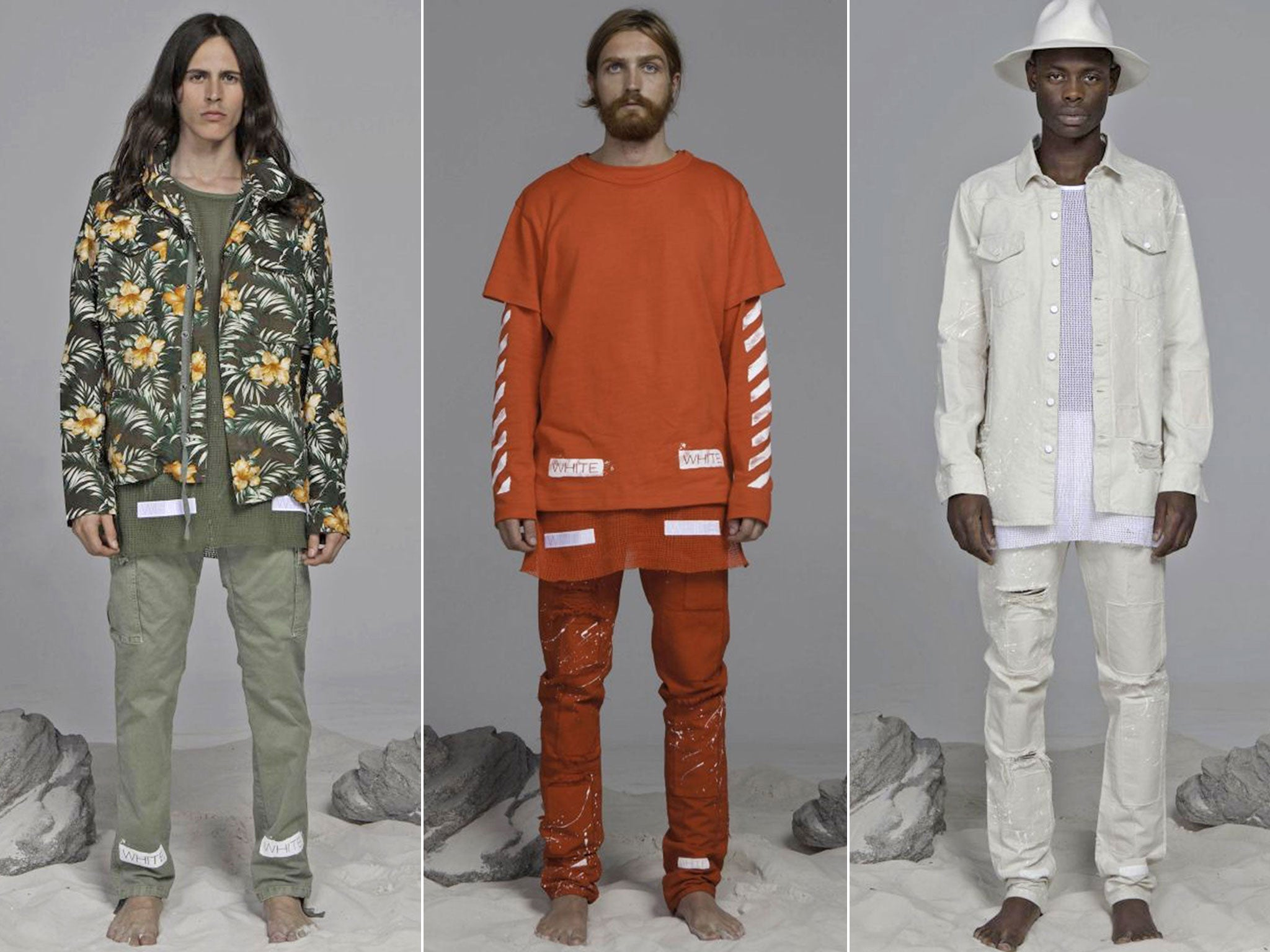 Kanye West S Creative Director Virgil Abloh Launches Streetwear Clothing Line The Independent