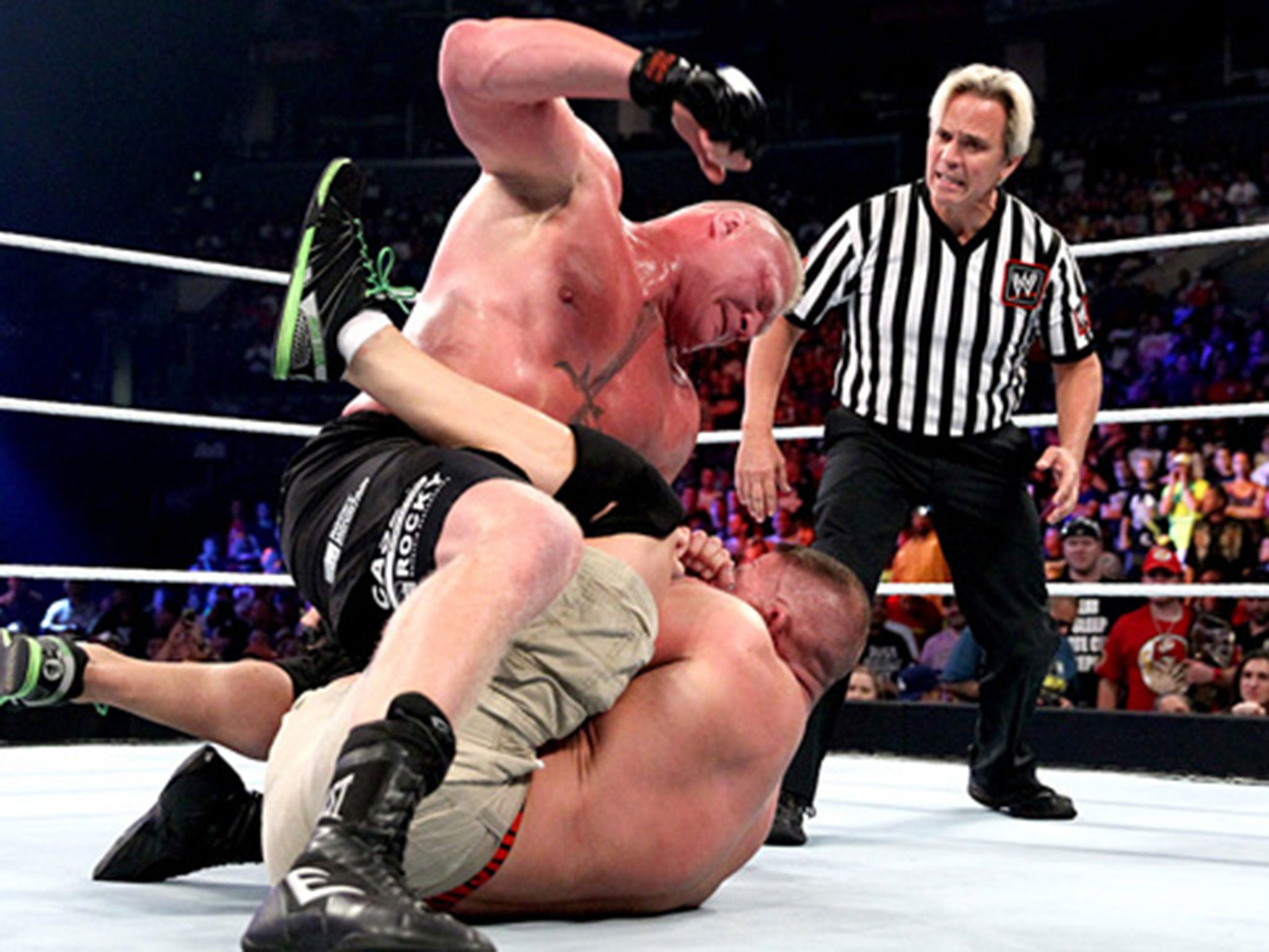 Wwe summerslam 2014 how twitter reacted to john cena vs brock lesnar the independent