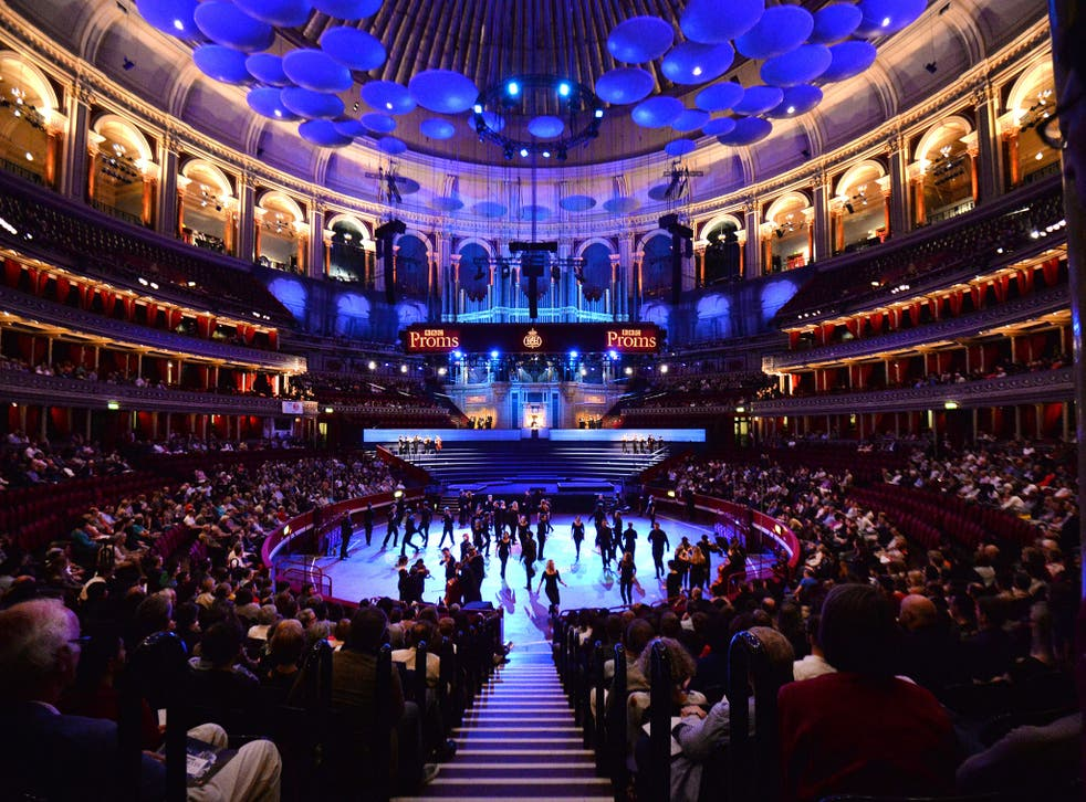 The Aurora Orchestra and Chantage perform the world premiere of Benedict Mason's BBC commission 'Meld' at the BBC Proms