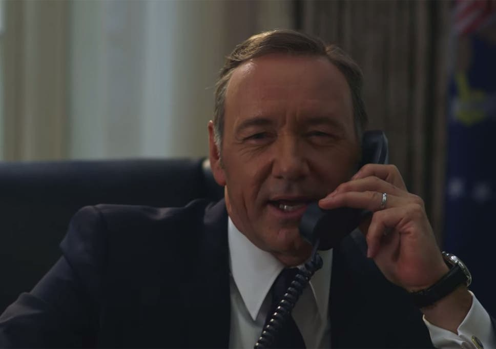Kevin Spacey Pranks Hillary Clinton As House Of Cards Character In